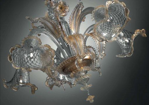 Darwin lampadario Murano particolare