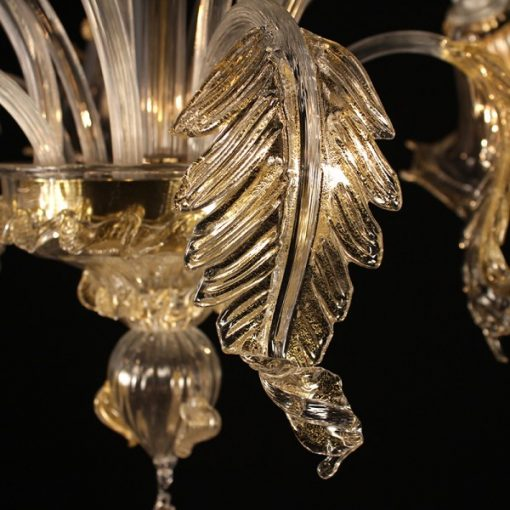 galileo-lampadari-murano-cristallo-oro-dettaglio
