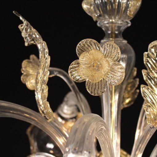 galileo-lampadari-murano-cristallo-oro-dettaglio1