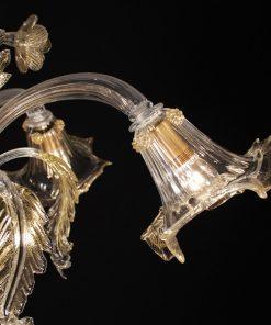 galileo-lampadari-murano-cristallo-oro-dettaglio2