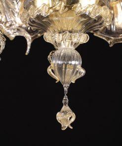 galileo-lampadari-murano-cristallo-oro-dettaglio3