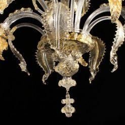 picasso-lampadari-murano-cristallo-oro-dettaglio-3