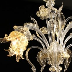 picasso-lampadari-murano-cristallo-oro-dettaglio-4