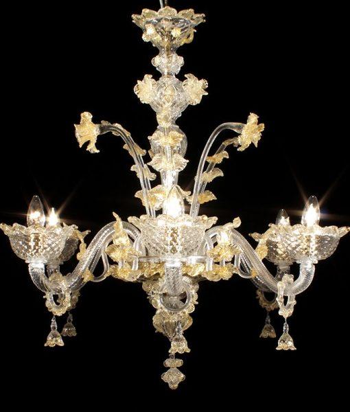 Lampadari In Cristallo: A goccia pendente di cristallo illuminazione appendere.