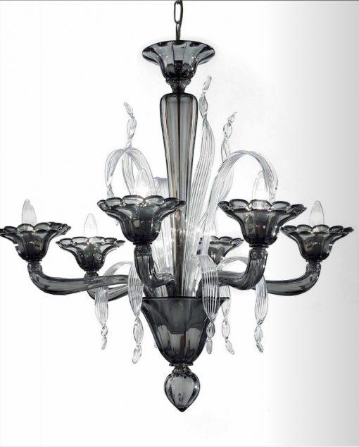 Edison lampadario Murano moderno
