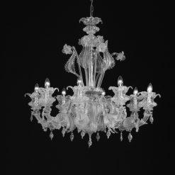 lampadario murano jobs cristallo