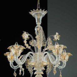 Lincoln oro lampadario Murano