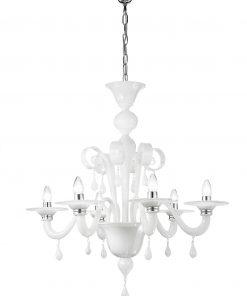 Cavour lampadario Murano moderno