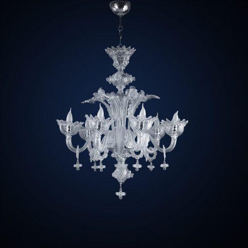 cleopatra lampadari murano cristallo