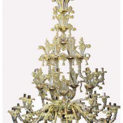 Pirandello lampadario Murano