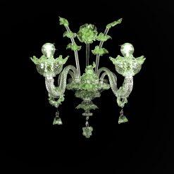 archimede-applique-cristallo-verde