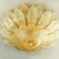 plafoniera murano madrid ambra