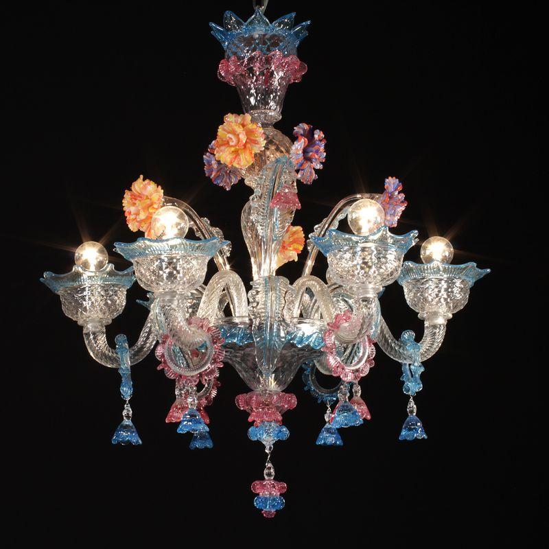 Barcelona lampadario murano cerchi un lampadario murano for Lampadario vetro murano moderni