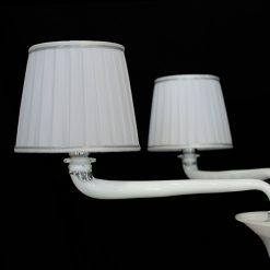 Firenze lampadario murano bianco parti