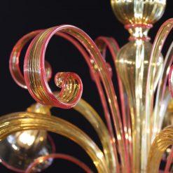 dubai-lampadari-murano-ambra-particolare