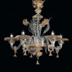 Amleto lampadario Murano