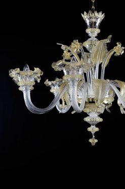 Nelson lampadario Murano particolare
