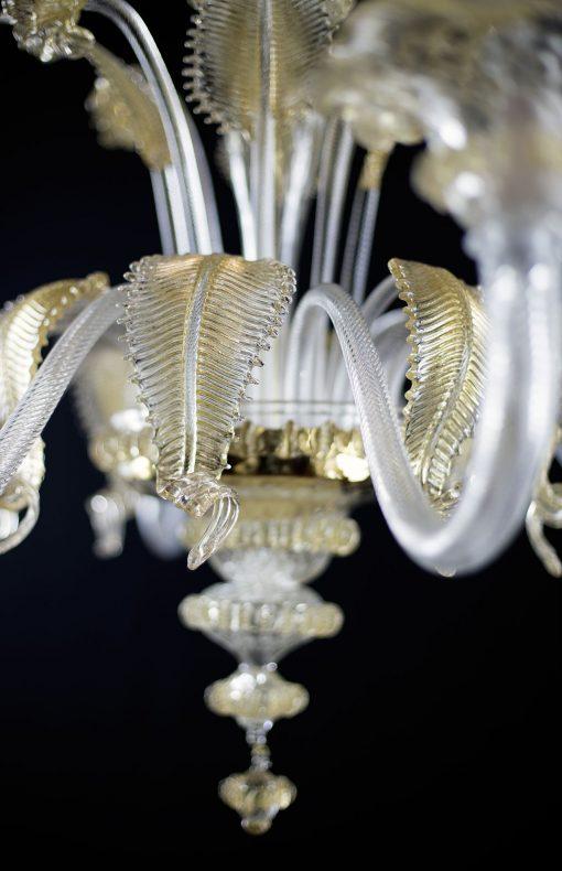 Nelson lampadario Murano particolare 3