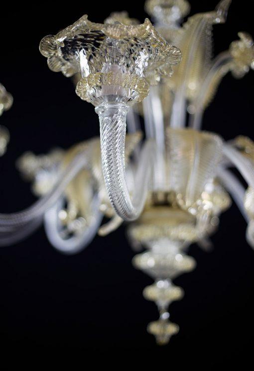 Nelson lampadario Murano particolare 4