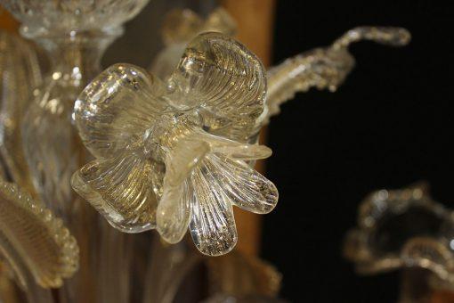 Nelson lampadario murano particolare fiore