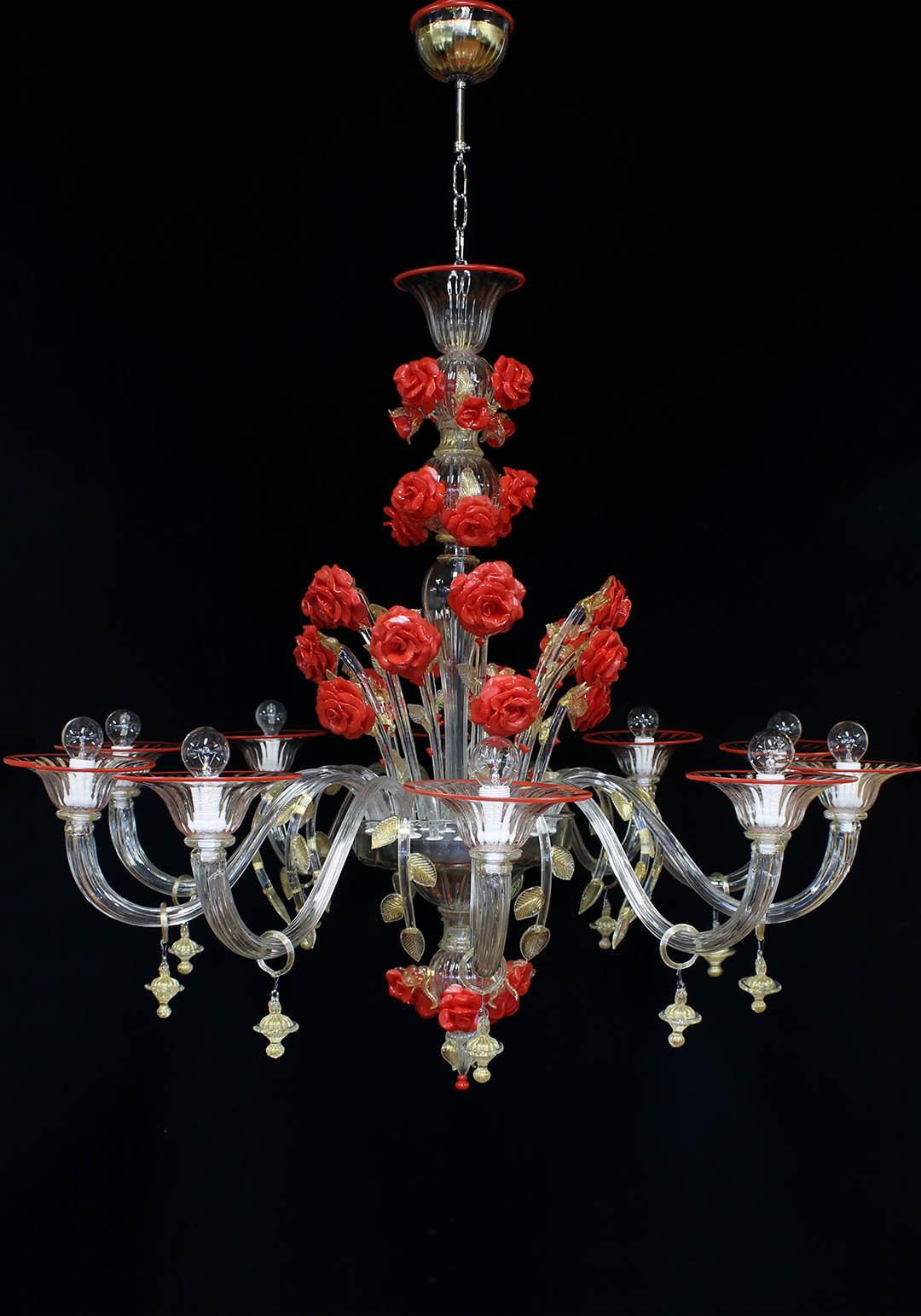 Romeo lampadario murano moderno cerchi un lampadario moderno for Lampadario vetro murano moderni