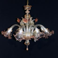 Alabama Murano chandelier