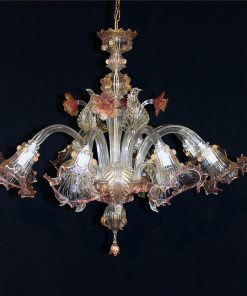 Alabama Murano chandelier