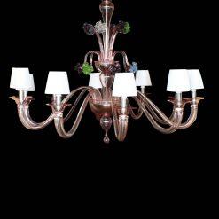 Kansas lampadario Murano moderno