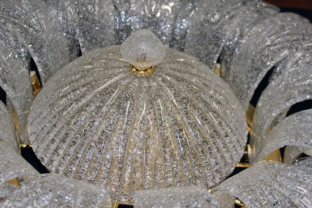 Plafoniera Fiori Murano : Plafoniera classica in vetro di murano led a incandescenza