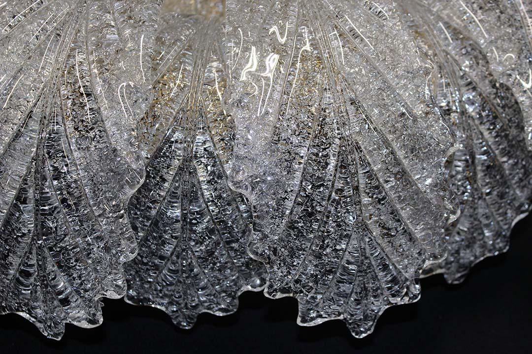 Plafoniere In Vetro Di Murano : Lampadario di cristallo incantevole luisa plafoniera in vetro