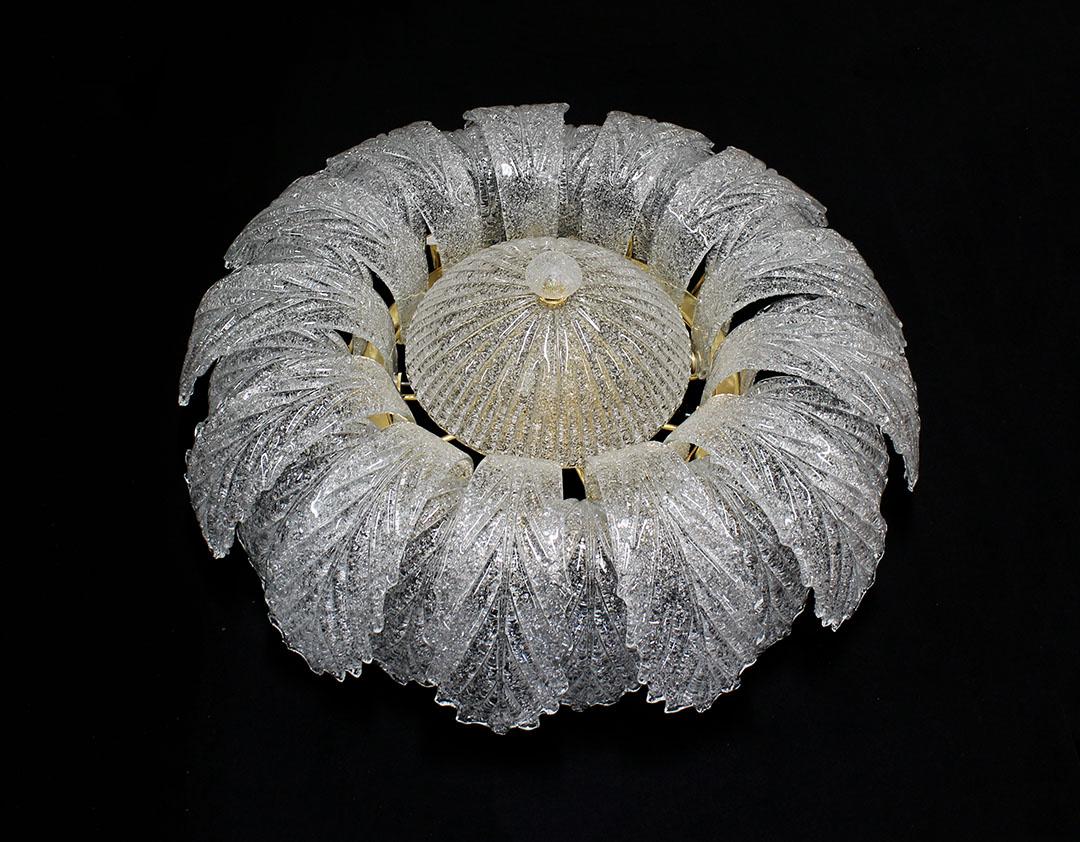 Plafoniera Fiori Murano : Barovier toso plafoniera fiori murano luci catawiki
