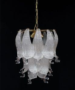 oregon lampadario murano vintage