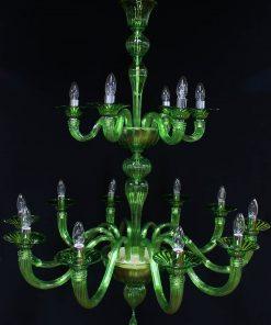 quadrifoglio lampadario murano moderno
