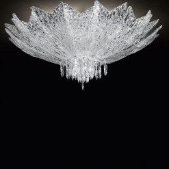 Taormina plafoniera Murano diametro 100