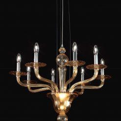 Leonard lampadario Murano moderno
