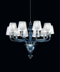 Tesla lampadario Murano moderno