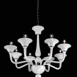 Pitagora lampadario Murano moderno