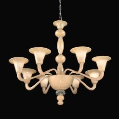 Zelda lampadario Murano moderno