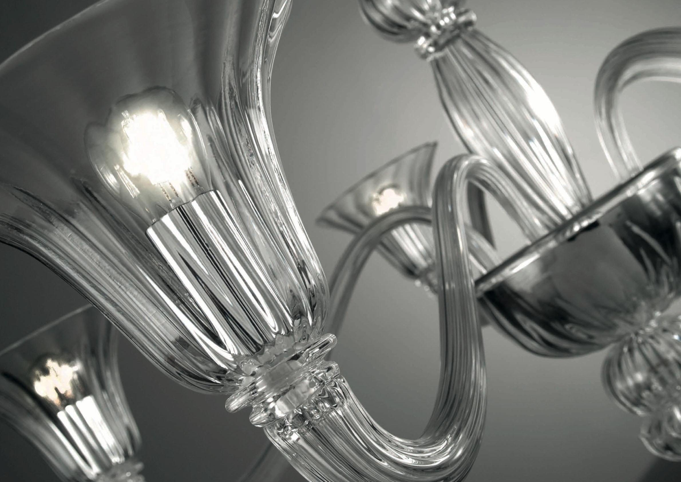 Lampada a sospensione moderna in vetro di murano da interno