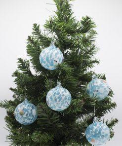 Pallina di Natale acquamare 60