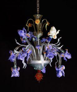 Fantasy lampadario Murano