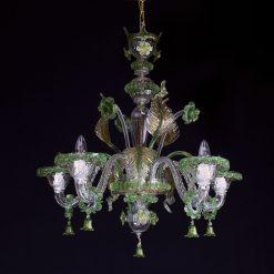 Irish lampadario Murano 2