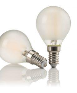Lampadina led bulb E14 Satin