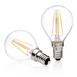 Lampadina led bulb E14 Glass