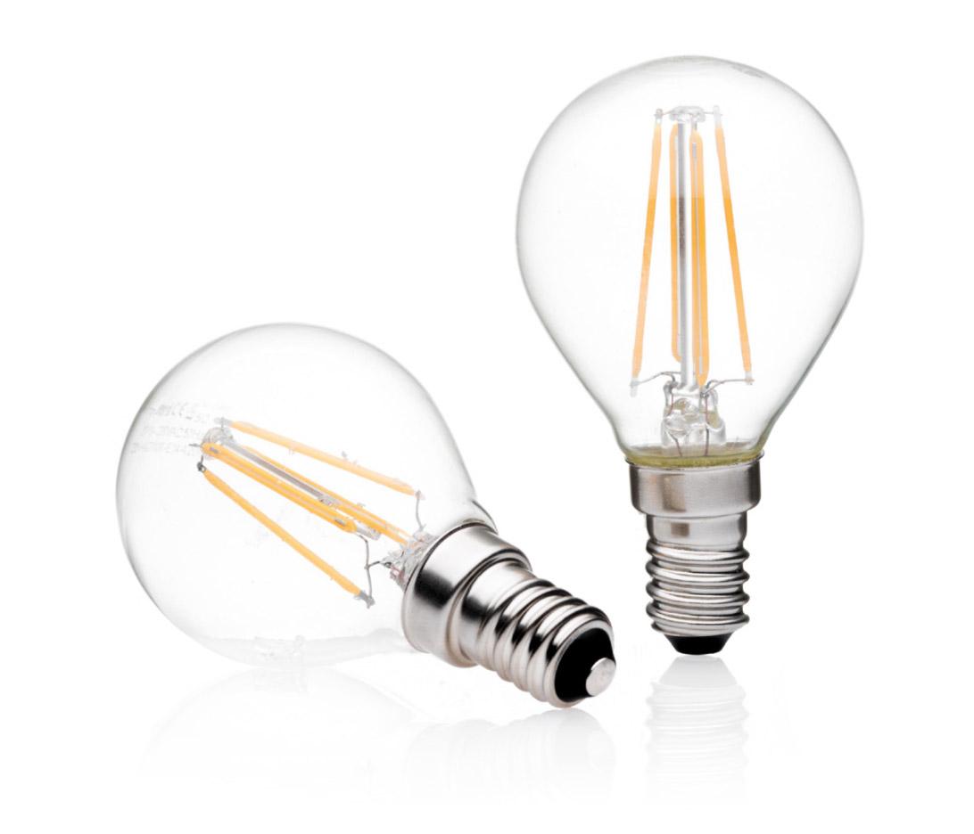 Lampadine Led E14.Lampadina Led Bulb E14 Glass