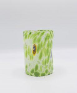 Nettuno Goto bianco verde Murano