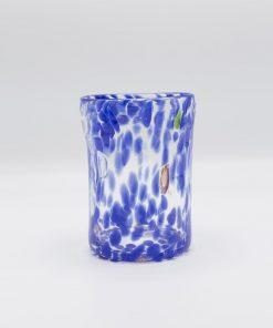 Nettuno Goto cristallo blu Murano
