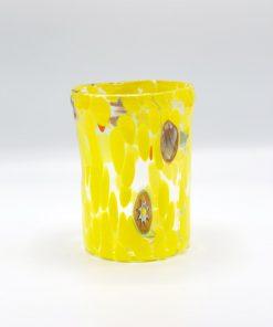 Nettuno Goto cristallo giallo Murano