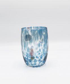 Oceano bicchiere acquamare Murano