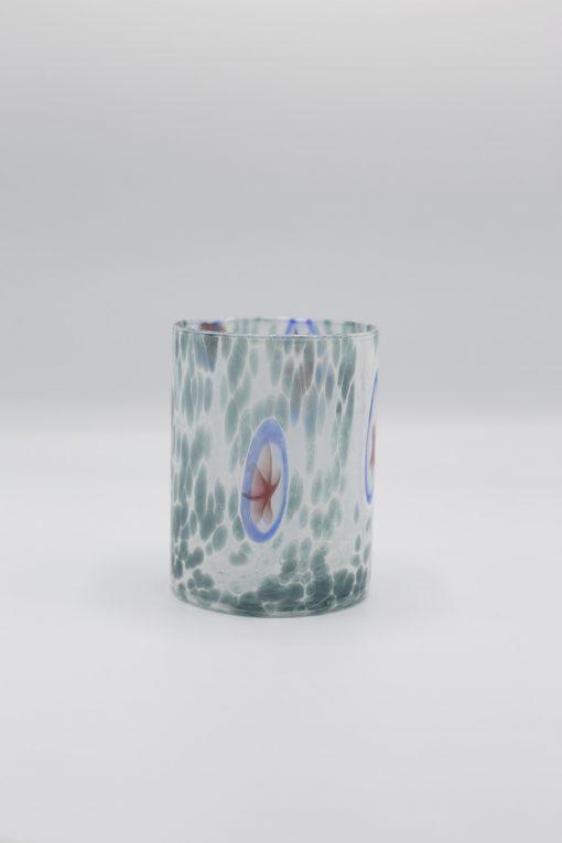 Urano bicchiere acquamare Murano